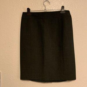 Loft pencil business skirt. Dark grey.